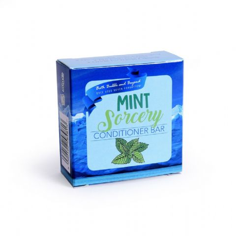MINT SORCERY Conditioner Bars Peppermint Intense Clean Hair - Bath Bubble & Beyond 50g